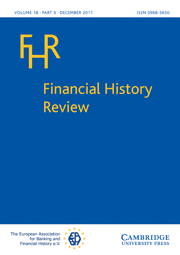 Financial History Review